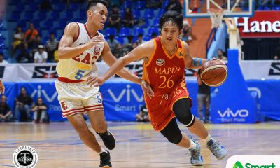 Tiebreaker Times Noal Lugo takes charge late as Mapua snaps EAC's streak Basketball EAC MIT NCAA News  Noah Lugo NCAA Season 94 Seniors Basketball NCAA Season 94 Mapua Seniors Basketball Laurenz Victoria JP Magullano Hamadou Laminou EAC Seniors Basketball Atoy Co Ariel Sison