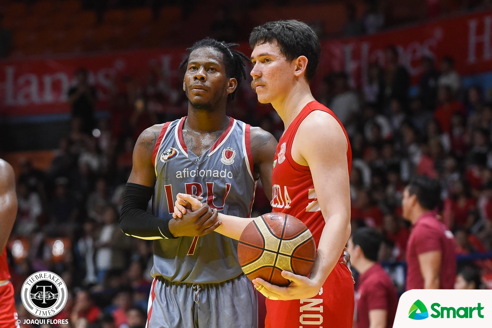 Tiebreaker Times Boyet Fernandez remains wary of Lyceum: 'With or without CJ, LPU is still a strong team' Basketball NCAA News SBC  San Beda Seniors Basketball NCAA Season 94 Seniors Basketball NCAA Season 94 CJ Perez Boyet Fernandez