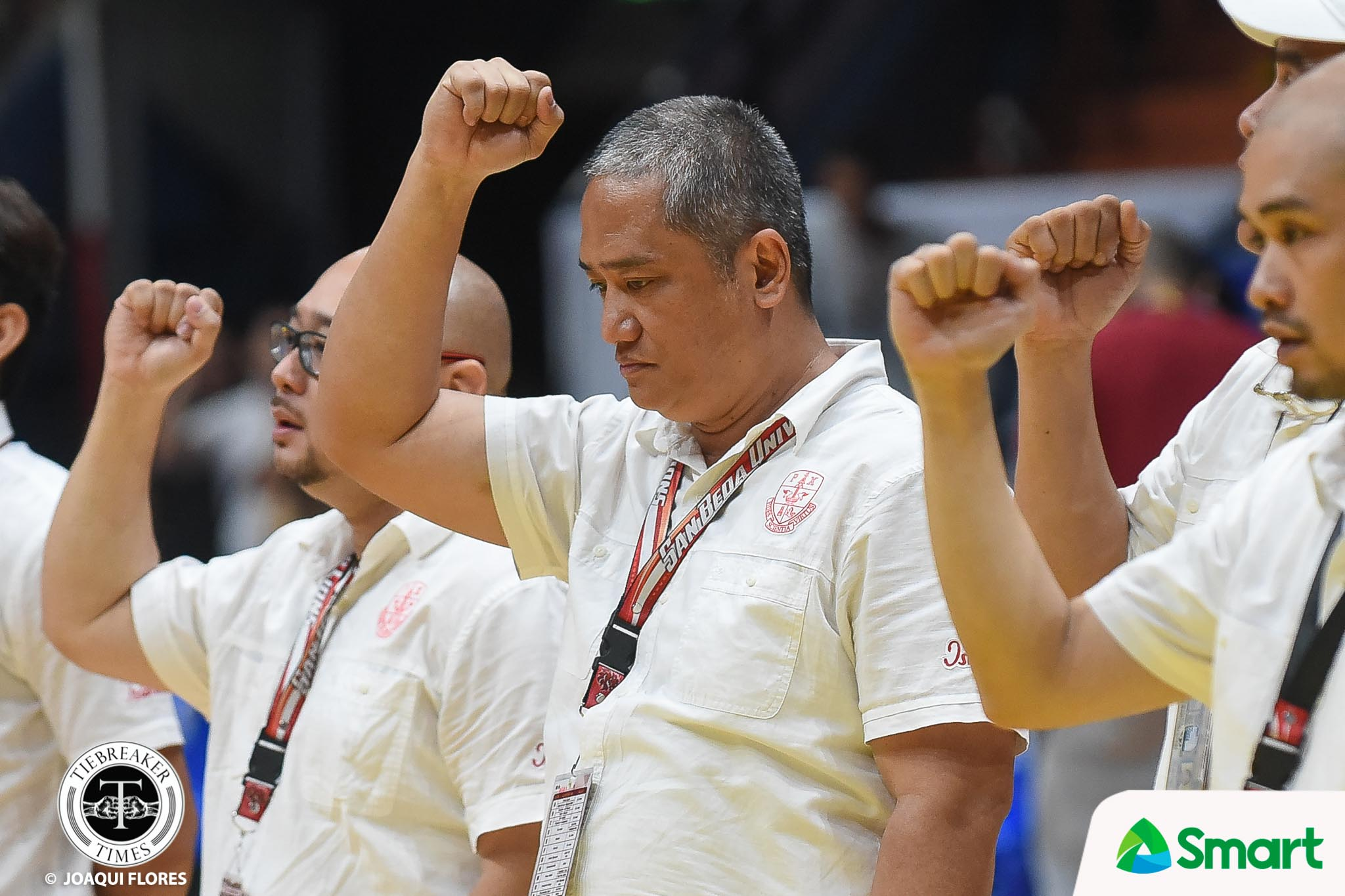 Tiebreaker Times San Beda official gives Boyet Fernandez high praise: 'He's probably second only to Tab Baldwin' Basketball NCAA News SBC  NCAA Season 94 Seniors Basketball NCAA Season 94 Jude Roque Cignal HD Hawkeyes Boyet Fernandez