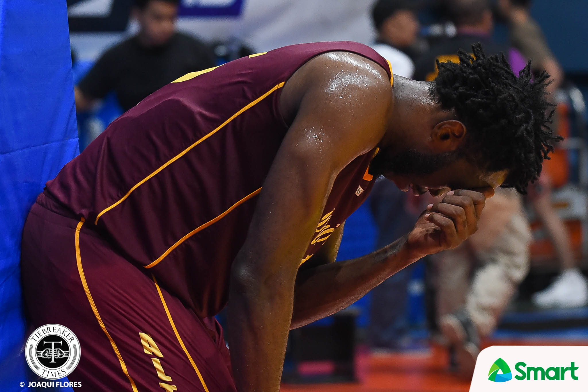 Tiebreaker Times Perpetualites for Life: Bright Akhuetie says Prince Eze deserves MVP plum Basketball NCAA News UAAP UP UPHSD  UP Men's Basketball UAAP Season 81 Men's Basketball UAAP Season 81 Prince Eze Perpetual Seniors Basketball NCAA Season 94 Seniors Basketball NCAA Season 94 Bright Akhuetie