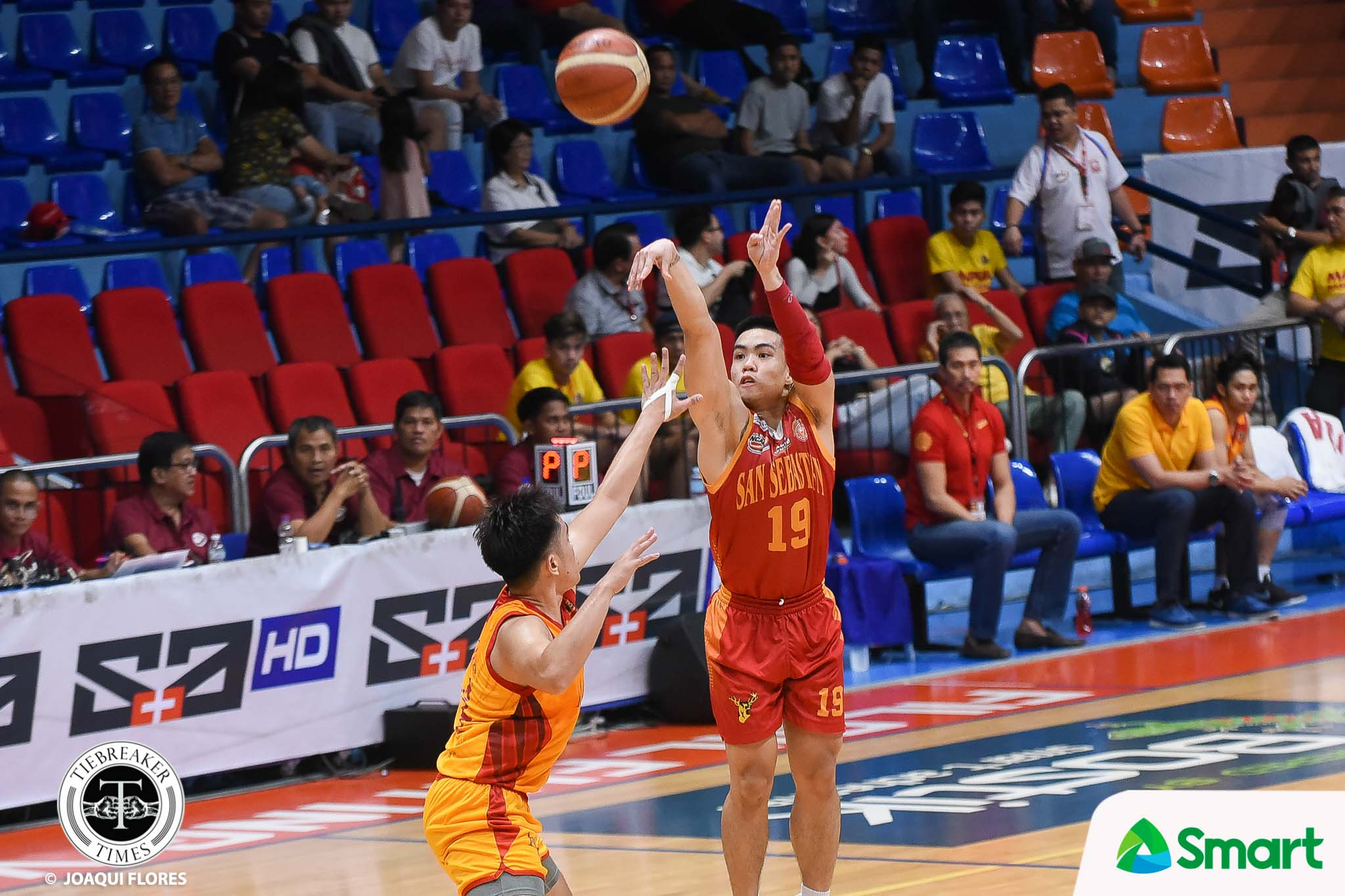 Tiebreaker Times RK Ilagan continues to make amends to Baste, sets career-high against Mapua Basketball MIT NCAA News SSC-R  Warren Bonifacio San Sebastian Seniors Basketball RK Ilagan NCAA Season 94 Seniors Basketball NCAA Season 94 Michael Calisaan Mapua Seniors Basketball Egay Macaraya Atoy Co