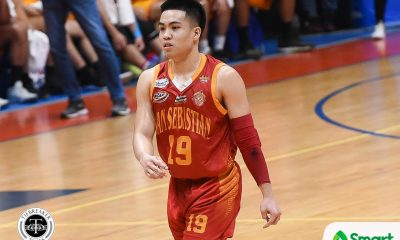 Tiebreaker Times RK Ilagan responds to Egay Macaraya's tough love approach with career-game Basketball NCAA News SSC-R  San Sebastian Seniors Basketball RK Ilagan NCAA Season 94 Seniors Basketball NCAA Season 94 Egay Macaraya