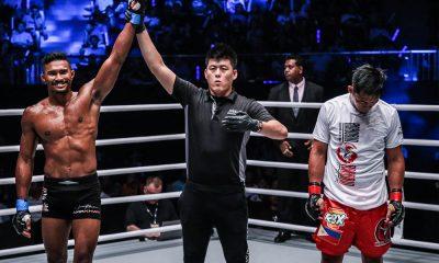 Tiebreaker Times Honorio Banario vows to bounce back stronger Mixed Martial Arts News ONE Championship  Team Lakay ONE: Beyond the Horizon Honorio Banario