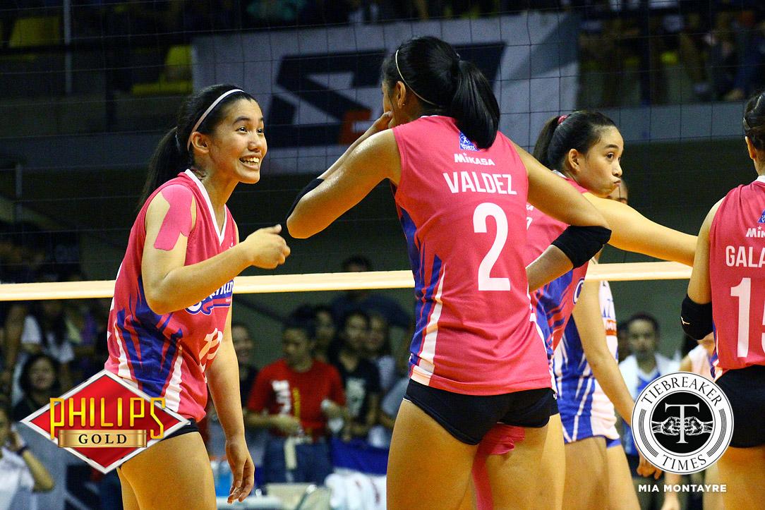 Tiebreaker Times Jia Morado heaps praise on protege Deanna Wong News PVL Volleyball  Jia Morado Creamline Cool Smashers 2018 PVL Season 2018 PVL Open Conference
