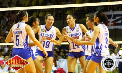 Tiebreaker Times Gutsy Ateneo-Motolite sweeps conference series against Pocari Sweat-Air Force ADMU AdU News PVL Volleyball  Pocari Sweat-Air Force Lady Warriors Oliver Almadro Nene Bautista Myla Pablo Kat Tolentino Joanne Bunag Jasper Jimenez Iriga City-Navy Lady Oragons Deanna Wong Dani Ravena Ceasa Pinar Bea De Leon Ateneo-Motolite Lady Eagles Akari-Adamson Lady Falcons Air Padda 2018 PVL Season 2018 PVL Open Conference