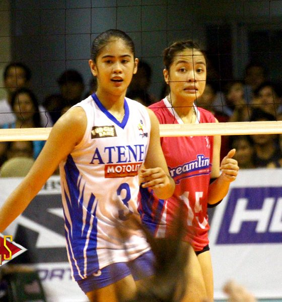 Tiebreaker Times Jema Galanza all-business when she faced partner Deanna Wong News PVL Volleyball  Jema Galanza Deanna Wong Creamline Cool Smashers 2018 PVL Season 2018 PVL Open Conference