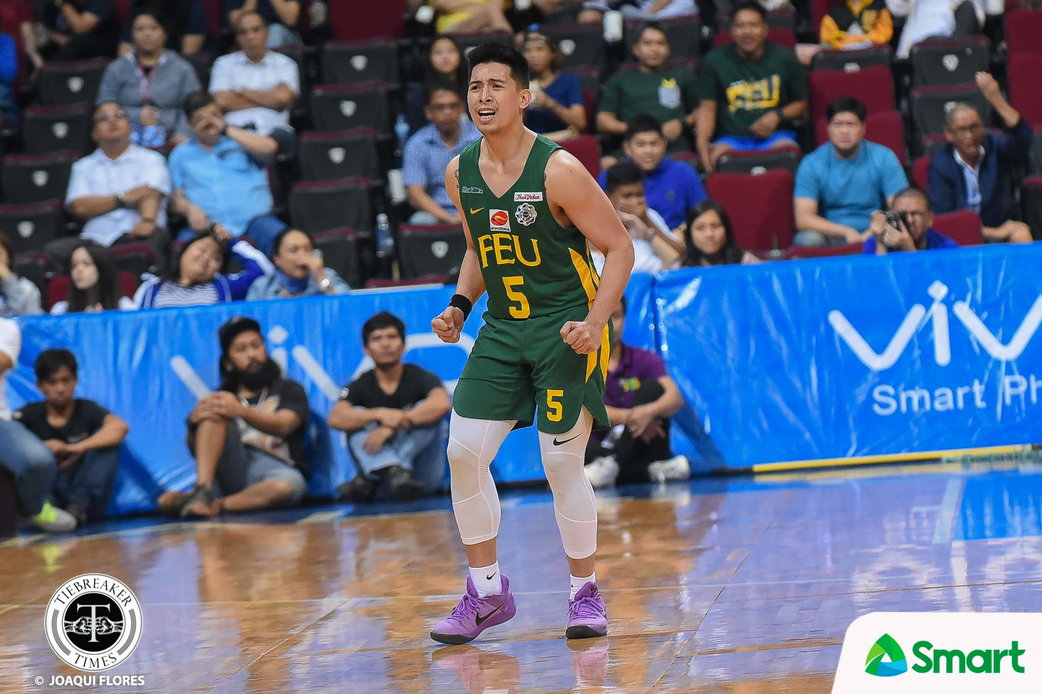 Tiebreaker Times Senior Axel Inigo gives way to rookie L-Jay Gonzales Basketball FEU News UAAP  UAAP Season 81 Men's Basketball UAAP Season 81 Olsen Racela FEU Men's Basketball Axel Inigo