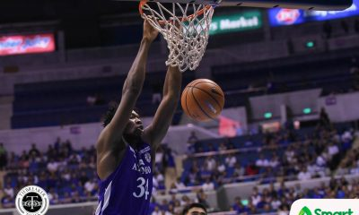 Tiebreaker Times Angelo Kouame tallies 30-20 game, lifts depleted Ateneo past FEU ADMU Basketball FEU News UAAP  UAAP Season 81 Men's Basketball UAAP Season 81 Tab Baldwin Richard Escoto Olsen Racela Hubert Cani FEU Men's Basketball Ateneo Men's Basketball Anton Asistio Angelo Kouame