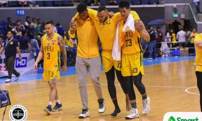 Tiebreaker Times Olsen Racela hoping for the best regarding Prince Orizu Basketball FEU News UAAP  UAAP Season 81 Men's Basketball UAAP Season 81 Prince Orizu Olsen Racela FEU Men's Basketball