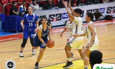 Tiebreaker Times Cara Buendia takes charge as Ateneo dismantles UP to end dismal run ADMU Basketball News UAAP UP  UP Women's Basketball UAAP Season 81 Women's Basketball UAAP Season 81 Kenneth Raval Katrina Guytingco Jollina Go John Flores Danielle de Guzman Cara Buendia Ateneo Women's Basketball