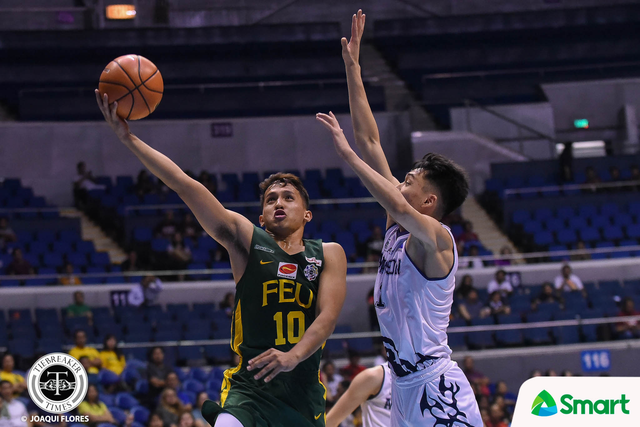 Tiebreaker Times Chooks-to-Go POW Ino Comboy puts in the work with Johnny Abarrientos Basketball FEU News UAAP  Wendelino Comboy UAAP Season 81 Men's Basketball UAAP Season 81 UAAP Player of the Week FEU Men's Basketball