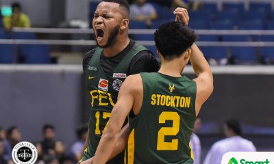 Tiebreaker Times Prince Orizu bids FEU Tamaraws farewell Basketball FEU News UAAP  UAAP Season 82 Men's Basketball UAAP Season 82 Prince Orizu Olsen Racela FEU Men's Basketball
