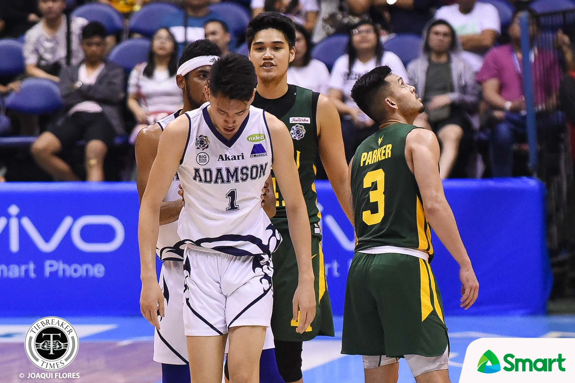 Tiebreaker Times For second straight year, Arvin Tolentino called for DQ foul against an Adamson player Basketball FEU News UAAP  UAAP Season 81 Men's Basketball UAAP Season 81 FEU Men's Basketball Arvin Tolentino