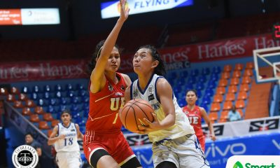 Tiebreaker Times Nathalia Prado comes good in the clutch, tows Adamson past defiant UE AdU Basketball News UAAP UE  UE Women's Basketball UAAP Season 81 Women's Basketball UAAP Season 81 Shellyn Bilbao Nathalia Prado Jamie Alcoy Ewon Arayi Christine Cortizano Anna Requiron Aileen Lebornia Adamson Women's Basketball