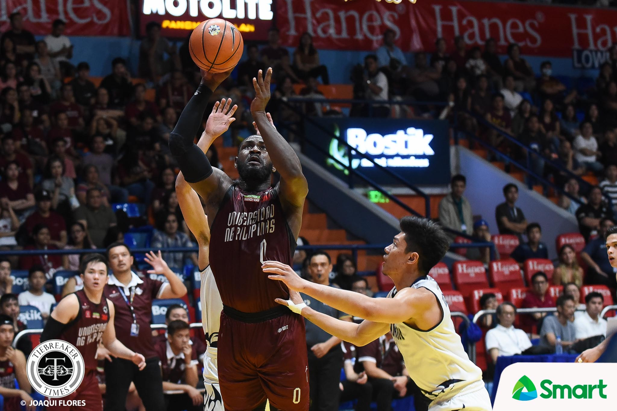 Tiebreaker Times Bo Perasol finds silver-lining in loss to Adamson Basketball News UAAP UP  UP Men's Basketball UAAP Season 81 Men's Basketball UAAP Season 81 Bo Perasol
