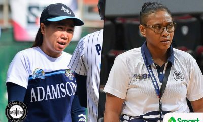 Tiebreaker Times Adamson WBT out to do their best to protect Softball Team's streak AdU Basketball News Softball UAAP  UAAP Season 81 Women's Basketball UAAP Season 81 Nathalia Prado Ewon Arayi Ana Santiago Adamson Women's Basketball Adamson Softball