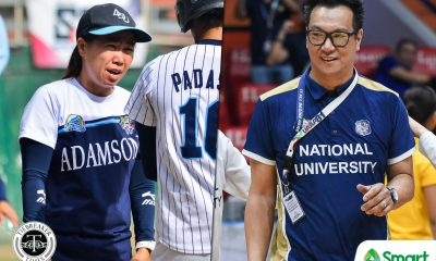 Tiebreaker Times Adamson Softball salutes NU Women's Basketball AdU Basketball News NU Softball UAAP  UAAP Season 81 Women's Basketball UAAP Season 81 Softball UAAP Season 81 Patrick Aquino Ana Santiago Adamson Softball