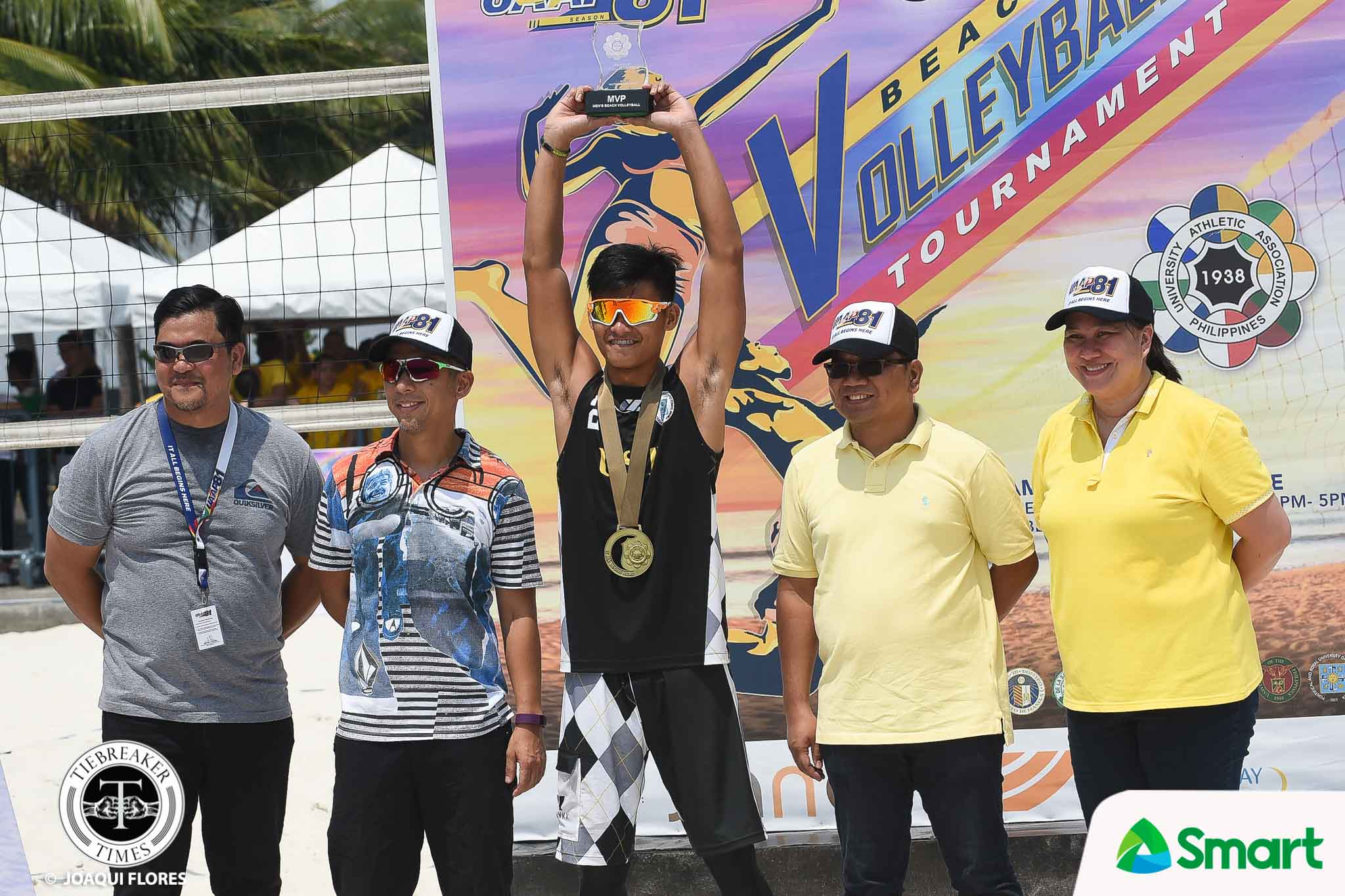 Tiebreaker Times Family Matters: The redemption of UST and Krung Arbasto Beach Volleyball News UAAP UST  UST Men's Volleyball UAAP Season 81 Men's Beach Volleyball UAAP Season 81 Jaron Requinton Anthony Arbasto