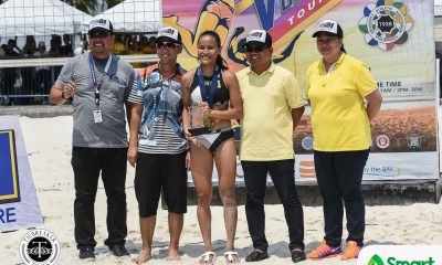 Tiebreaker Times Four titles, four MVPs will not change Sisi Rondina Beach Volleyball News UAAP UST  UST Women's Volleyball UAAP Season 81 Women's Beach Volleyball UAAP Season 81 Cherry Rondina