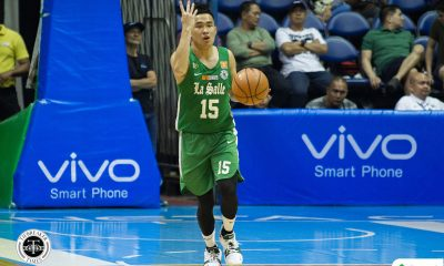 Tiebreaker Times Struggling to find his rhythm, Kib Montalbo makes sure to provide La Salle with goodies, leadership Basketball DLSU News UAAP  UAAP Season 81 Men's Basketball UAAP Season 81 Kib Montalbo DLSU Men's Basketball