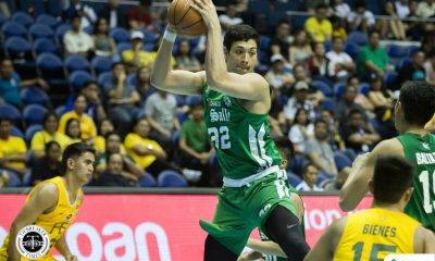 Tiebreaker Times Brandon Bates shows why he is part of the Green Archers Basketball DLSU News UAAP  UAAP Season 81 Men's Basketball UAAP Season 81 Louie Gonzalez DLSU Men's Basketball Brandon Bates