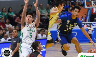 Tiebreaker Times Rookies SJ Belangel, Joaqui Manuel brace for first Ateneo-La Salle game ADMU Basketball DLSU News UAAP  UAAP Season 81 Men's Basketball UAAP Season 81 SJ Belangel Joaqui Manuel DLSU Men's Basketball Ateneo Men's Basketball