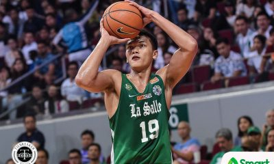 Tiebreaker Times Chooks-to-Go/Collegiate PC POW Baltazar's 25-25 game puts coach in awe Basketball DLSU News UAAP  UAAP Season 82 Men's Basketball UAAP Season 82 UAAP Player of the Week Justine Baltazar Chooks-to-Go