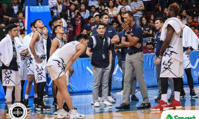 Tiebreaker Times Franz Pumaren, staff to continue journey with Adamson AdU Basketball News UAAP  UAAP Season 82 Men's Basketball UAAP Season 82 Tonichi Yturri Renren Ritualo Jack Santiago Franz Pumaren Don Allado Adamson Men's Basketball
