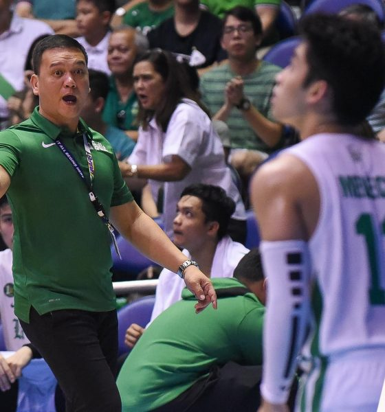 Tiebreaker Times Louie Gonzalez proud of Green Archers' fight despite 0-of-20 start Basketball DLSU News UAAP  UAAP Season 81 Men's Basketball UAAP Season 81 Louie Gonzalez DLSU Men's Basketball