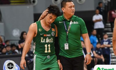Tiebreaker Times Aljun Melecio still not ready to be called 'go-to' Green Archer Basketball DLSU News UAAP  uaap season 81 men's baskebtall UAAP Season 81 DLSU Men's Basketball Aljun Melecio