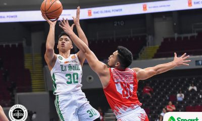 Tiebreaker Times Co-captain Andrei Caracut responds to Louie Gonzalez's challenge Basketball DLSU News UAAP  UAAP Season 81 Men's Basketball UAAP Season 81 Louie Gonzalez DLSU Men's Basketball Andrei Caracut