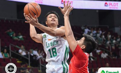 Tiebreaker Times Needing reps, Encho Serrano plays through fever Basketball DLSU News UAAP  UAAP Season 81 Men's Basketball UAAP Season 81 Encho Serrano DLSU Men's Basketball