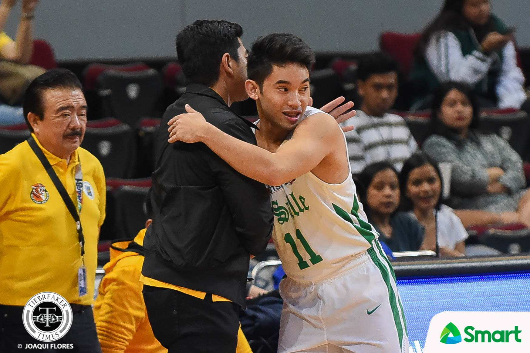 UAAP-81-DLSU-vs.-UST-Melecio-4498 Melecio says playing for four coaches in DLSU is an advantage Basketball DLSU News PBA UAAP  - philippine sports news