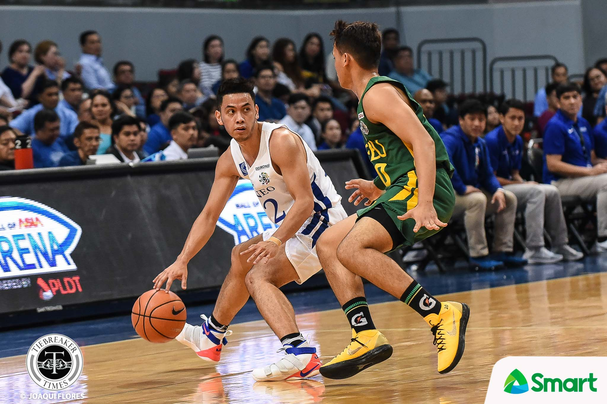 Tiebreaker Times Matt Nieto's injury not an excuse for Blue Eagles ADMU Basketball News UAAP  UAAP Season 81 Men's Basketball UAAP Season 81 Tab Baldwin Mike Nieto Matt Nieto Ateneo Men's Basketball