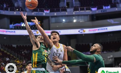 Tiebreaker Times Like a sponge, Germy Mahinay soaks in learnings from Aldin Ayo Basketball News UAAP UST  UST Men's Basketball UAAP Season 81 Men's Basketball UAAP Season 81 Germy Mahinay Aldin Ayo