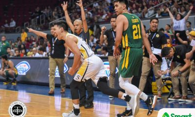 Tiebreaker Times UST completes sweep of FEU Basketball FEU News UAAP UST  Zachy Huang UST Men's Basketball UAAP Season 81 Men's Basketball UAAP Season 81 Richard Escoto Renzo Subido Olsen Racela Germy Mahinay FEU Men's Basketball Arvin Tolentino Aldin Ayo