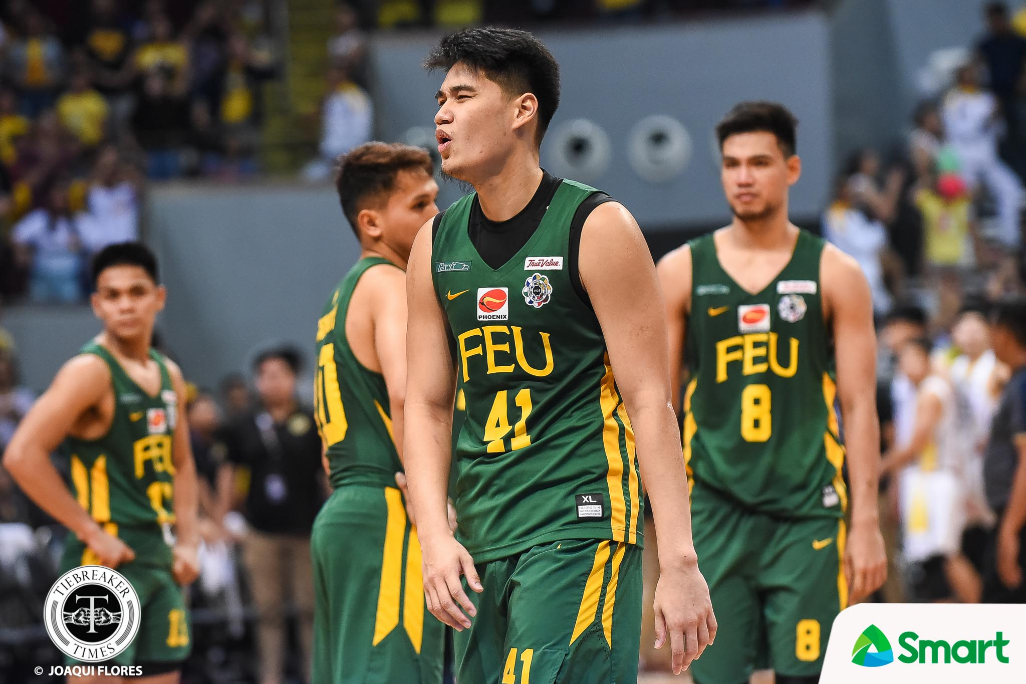 Tiebreaker Times Olsen Racela guarantees: 'Arvin has learned his lesson' Basketball FEU News UAAP  UAAP Season 81 Men's Basketball UAAP Season 81 Olsen Racela FEU Men's Basketball Arvin Tolentino