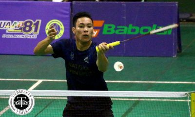 Tiebreaker Times National U clinches 5th straight outright Finals berth ADMU AdU Badminton DLSU News NU UAAP UP UST  UST Men's Badminton UP Men's Badminton UE Men's Badminton UAAP Season 81 Men's Badminton UAAP Season 81 Sean Chan NU Men's Badminton Mike Minuluan Kyle Legaspi Keoni Asuncion JM Bernardo Harvey Tungul Fides Bagasbas Estarco Bacalso DLSU Men's Badminton Dawn Cuyno Carlo Remo Betong Pineda Ateneo Men's Badminton Andrew Pineda Alam Palmares