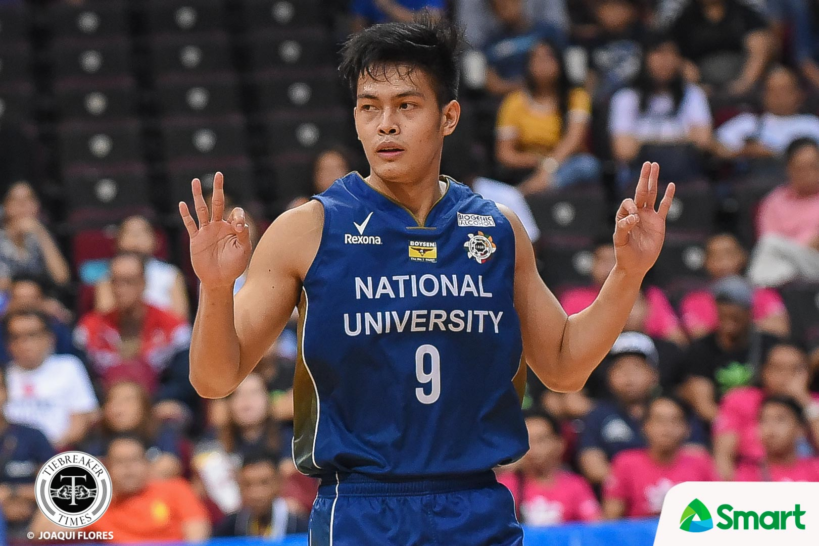 Tiebreaker Times No pressure for John Lloyd Clemente to make waves Basketball News NU UAAP  UAAP Season 81 Men's Basketball UAAP Season 81 NU Men's Basketball John Lloyd Clemente
