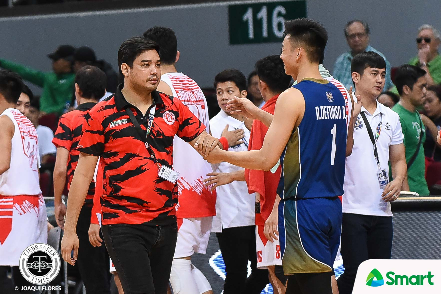 Tiebreaker Times Dave Ildefonso and Joe Silva had a deal prior to NU-UE game: 'Barilan kami pag nakaka-shoot' Basketball News NU UAAP UE  UE Men's Basketball UAAP Season 81 Men's Basketball UAAP Season 81 NU Men's Basketball Joe Silva Dave Ildefonso