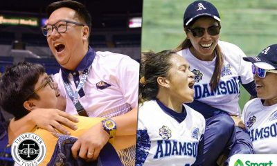 Tiebreaker Times NU Women's Basketball pays tribute to Adamson Softball: 'We will not be here without them' AdU Basketball News NU Softball UAAP  UAAP Season 81 Women's Basketball UAAP Season 81 Softball UAAP Season 81 Patrick Aquino NU Women's Basketball Ana Santiago Adamson Softball