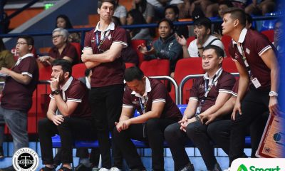 Tiebreaker Times Bo Perasol's silence speaks volumes to Fighting Maroons Basketball News UAAP UP  UP Men's Basketball UAAP Season 81 Men's Basketball UAAP Season 81 Diego Dario Bo Perasol