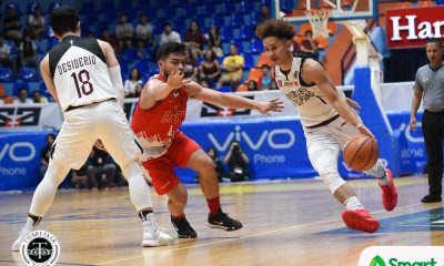 Tiebreaker Times Juan Gomez de Liano tallies first triple-double in 12 years as UP snaps skid Basketball News UAAP UE UP  UP Men's Basketball UE Men's Basketball UAAP Season 81 Men's Basketball UAAP Season 81 Juan Gomez De Liano Joe Silva Bo Perasol