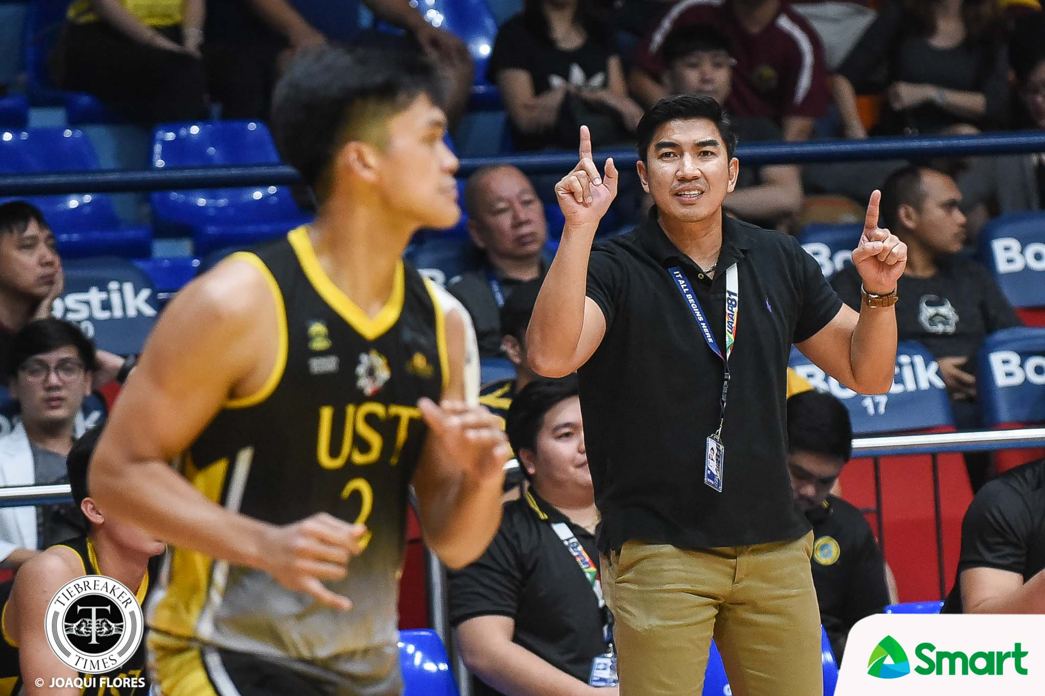 Tiebreaker Times SOURCES: UST stands by own Bicol bubble investigation despite appeal to UAAP Basketball News UAAP UST  UST Men's Basketball UAAP Season 83 Men's Basketball UAAP Season 83 Aldin Ayo