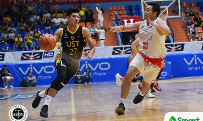 Tiebreaker Times Two-time Chooks-to-Go POW CJ Cansino dedicates latest feat to UST Basketball News UAAP UST  UST Men's Basketball UAAP Season 81 Men's Basketballl UAAP Season 81 UAAP Player of the Week CJ Cansino