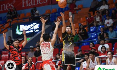 Tiebreaker Times Marvin Lee, CJ Cansino put on a show as UST exorcises Filoil curse Basketball News UAAP UE UST  Zachy Huang UST Men's Basketball UE Men's Basketball UAAP Season 81 Men's Basketball UAAP Season 81 Philip Manalang Marvin Lee Joe Silva CJ Cansino Alvin Pasaol Aldin Ayo