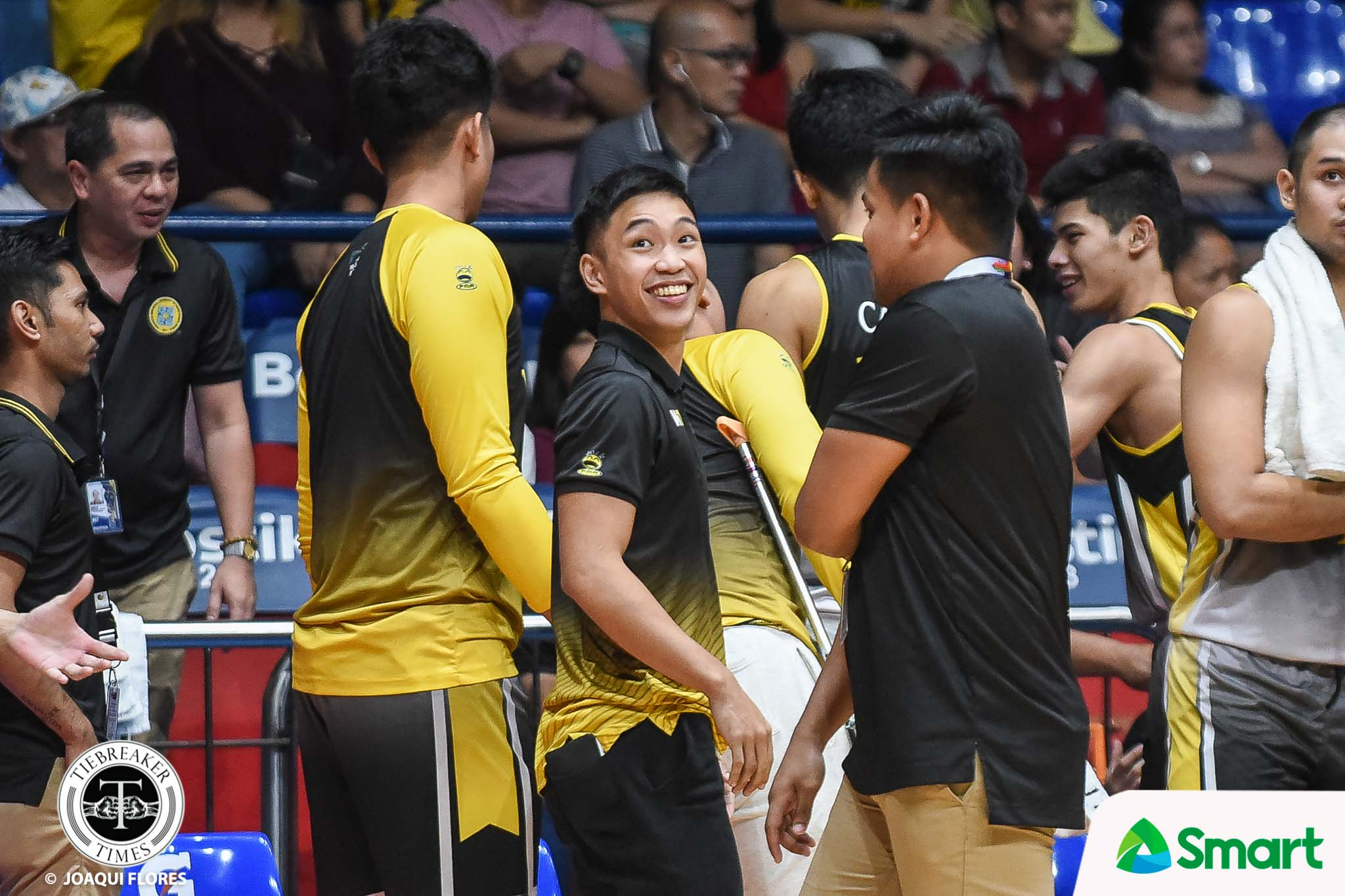 Tiebreaker Times Aldin Ayo, UST bracing for the worst re: Renzo Subido's injury Basketball News UAAP UST  UST Men's Basketball UAAP Season 81 Men's Basketball UAAP Season 81 Renzo Subido Aldin Ayo