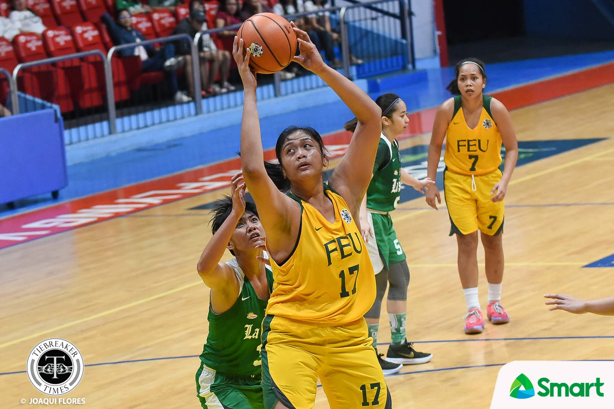Tiebreaker Times Clare Castro falls shy of 40-20 game, lifts FEU over slumping La Salle Basketball FEU News UAAP UST  Valerie Mamaril UAAP Season 81 Women's Basketball UAAP Season 81 Khate Castillo Joehanna Arciga FEU Women's Basketball DLSU Women's Basketball Clare Castro Cholo Villanueva Bert Flores
