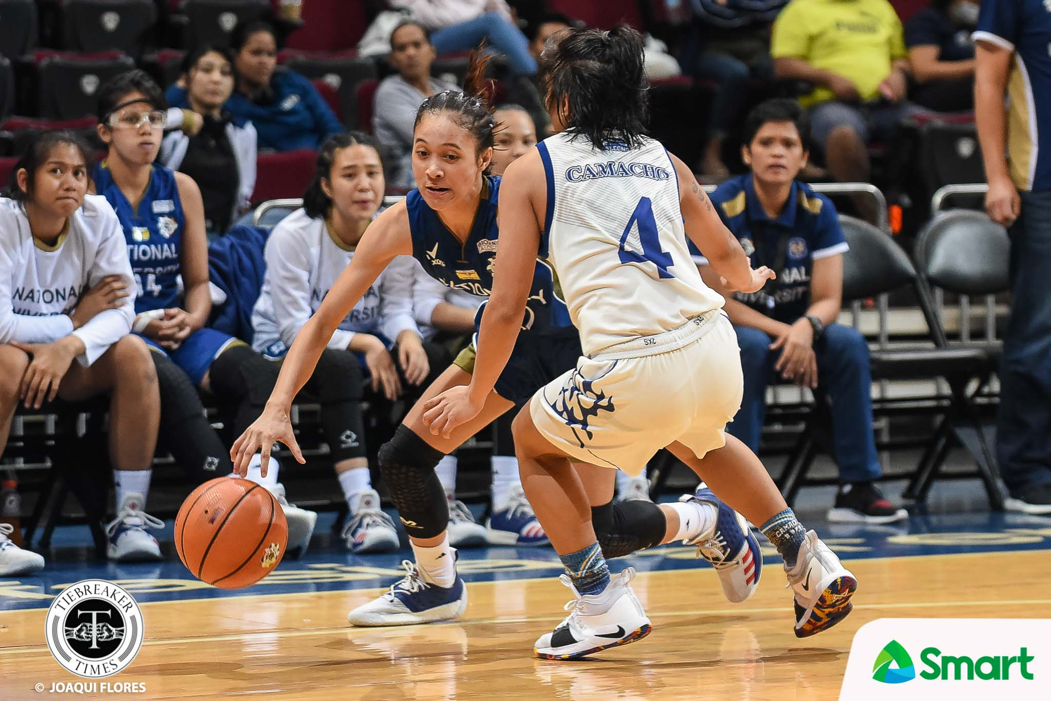 Tiebreaker Times Nothing personal as Kaye Pingol instigates NU rout of Adamson Basketball News NU UAAP  UAAP Season 81 Women's Basketball UAAP Season 81 Patrick Aquino NU Women's Basketball Kaye Pingol