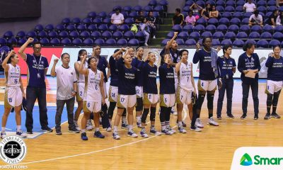 Tiebreaker Times Lady Bulldogs do not know what losing is like, and they have no plans of feeling it Basketball News NU UAAP  UAAP Season 81 Women's Basketball UAAP Season 81 Ria Nabalan Rhena Itesi NU Women's Basketball Kaye Pingol Jack Animam